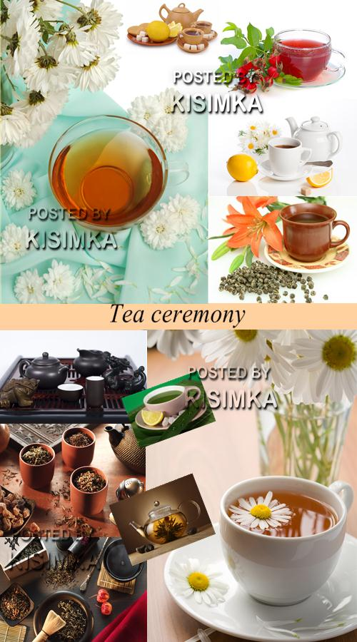 Stock Photo: Tea ceremony