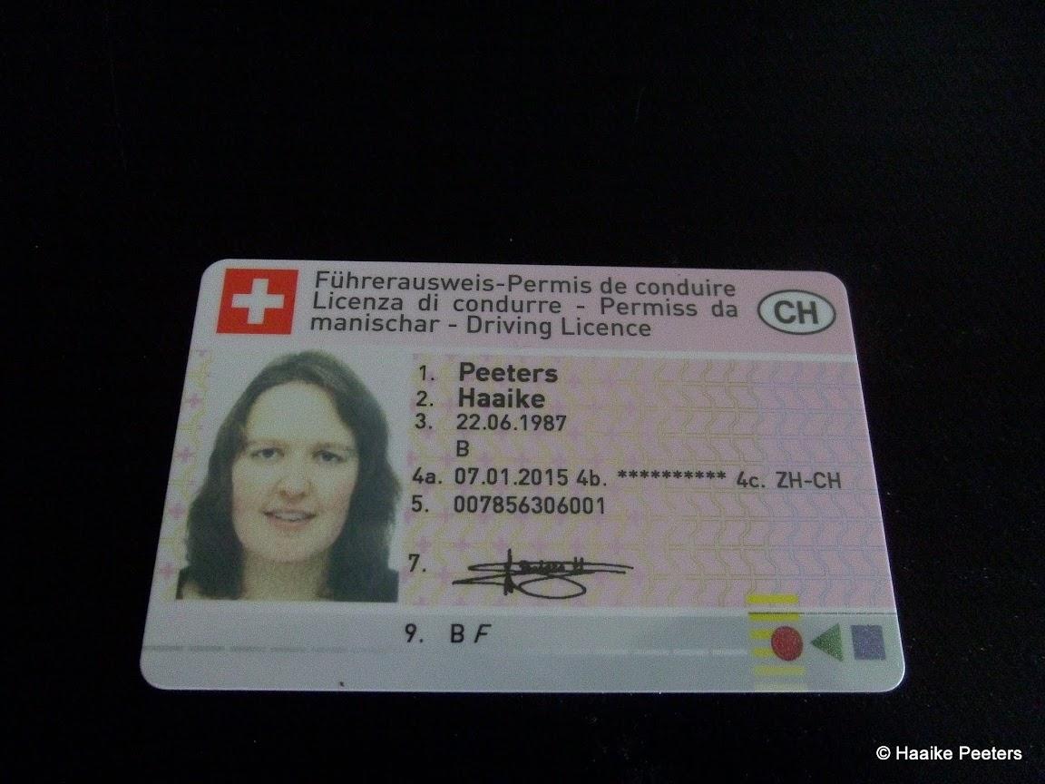 Zwitsers rijbewijs (Le petit requin)