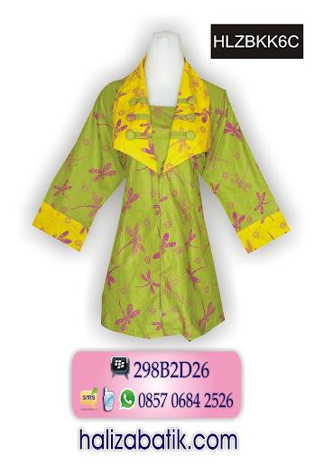 grosir batik pekalongan, Model Blus, Blus Batik, Model Baju Batik