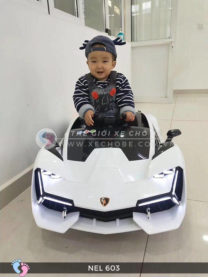 xe ô tô điện trẻ em Lamborghini NEL-603 13