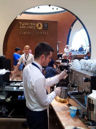 More lattes, please. From What's It Really Like to Fly Turkish Airlines Business Class?