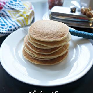 High Protein Gluten Free Pancakes.