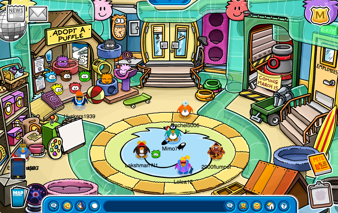 Club Penguin Cheats by Mimo777: New Club Penguin Pet Shop