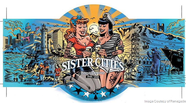 Renegade Brewing & Brasserie du Baril Collaborate On Sister Cities Project