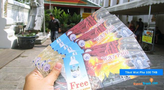 Wat pho merupakan salah satu tempat wisata di singapore yang bisa kamu masuki hanya dengan 100 THB saja