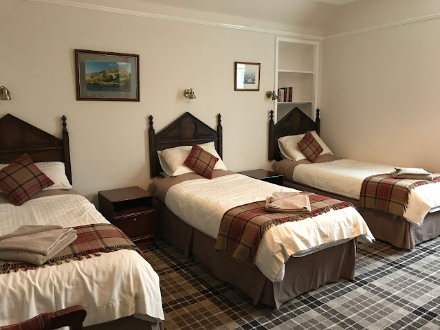 Stampin4fun farewell scotland hello home for Cute hotel rooms