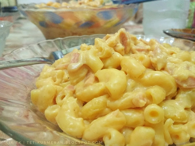 Resepi mac and cheese