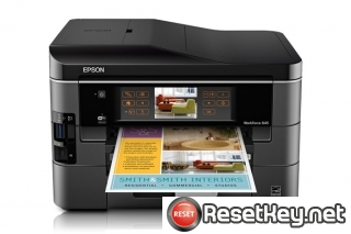 Reset Epson WorkForce 845 Waste Ink Pads Counter overflow problem