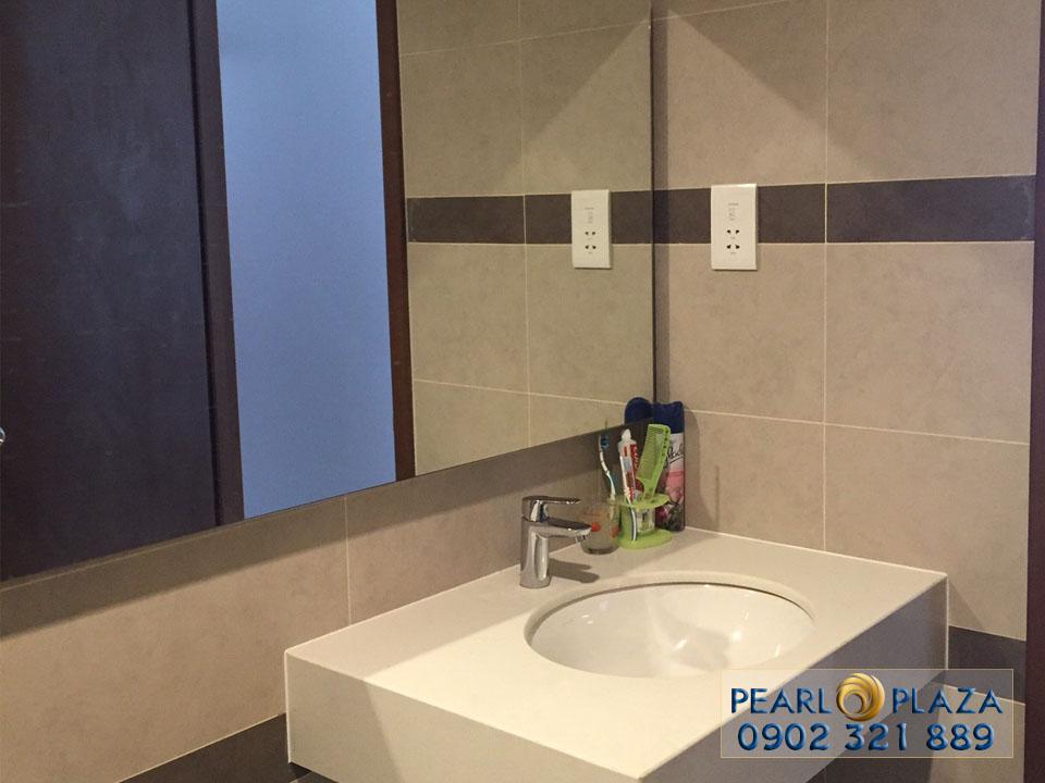 labo tại phòng vệ sinh căn hộ pearl plaza cho thuê