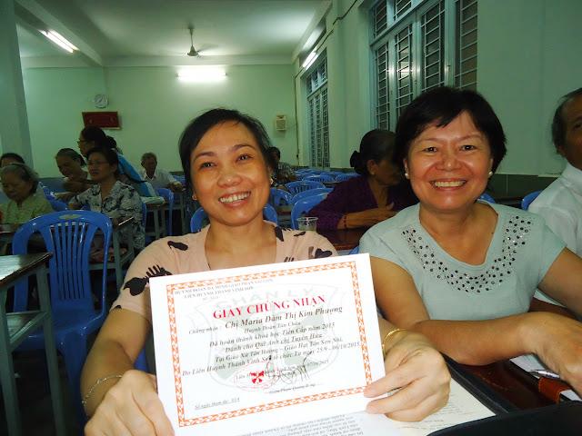 Liên huynh Vinh Sơn: khóa học tiến cấp