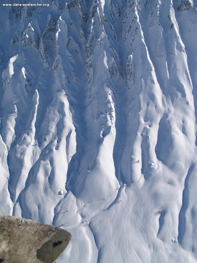 Avalanche Vanoise, secteur Grande Motte, Couloir des Tufs - Photo 1