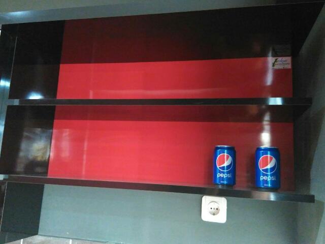 Model hambalan terbuka kitchen set