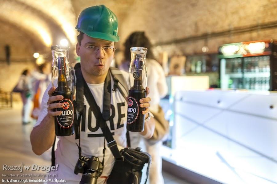 Kopalnia Guido w Zabrzu - Maciej upolował piwo GUIDO