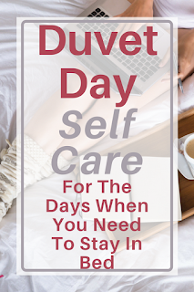 Who doesnt love a duvet day? We all have those days. We have done too much, we are overworked and exhausted. A day in bed is just what the doctor ordered.