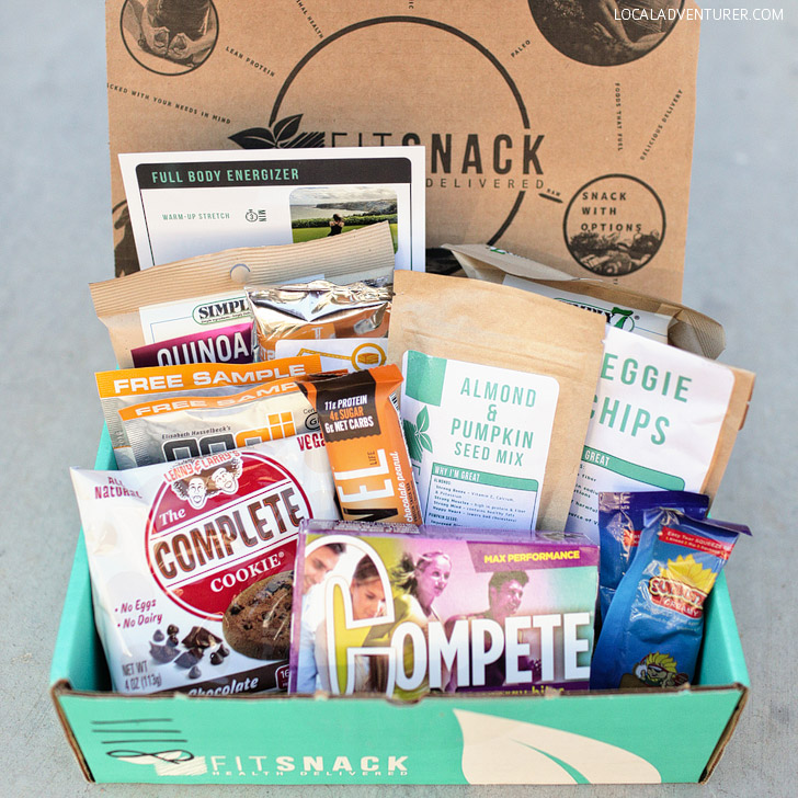 Fit Snack (Best Subscription Boxes for Travelers).