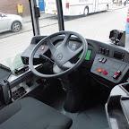 Het dashbaord van de Mercedes-Benz Citaro van Syntus bus 5211 als lijn 3 naar Veldhuizen