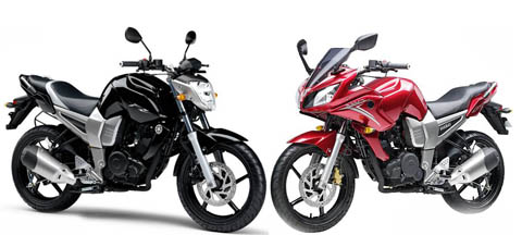 Yamaha fz16 vs yamaha fazer 150 for Yamaha 221 vs 222