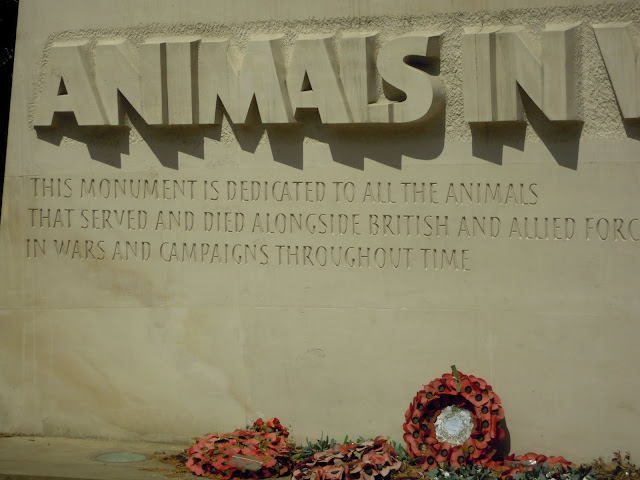 Animals in War Memorial. From Important and Little-Known London Memorials and Statues