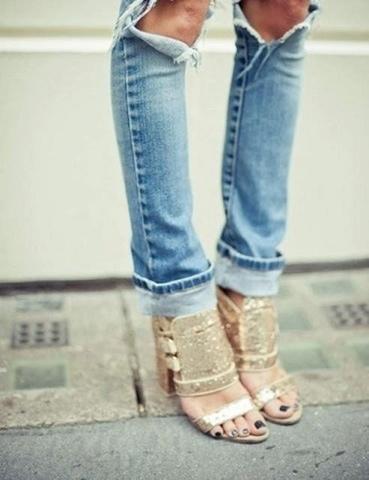 tendance mode été 2013  ripped jeans