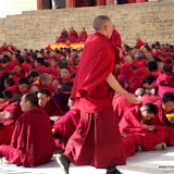 Massive religious gathering and enthronement of Dalai Lama's portrait in Lithang, Tibet. - l33.JPG