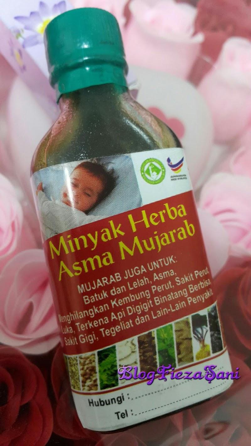 Minyak Herba Asma Mujarab..Ikthtiar Untuk Asma/Lelah/Batuk & Pelbagai Fungsi