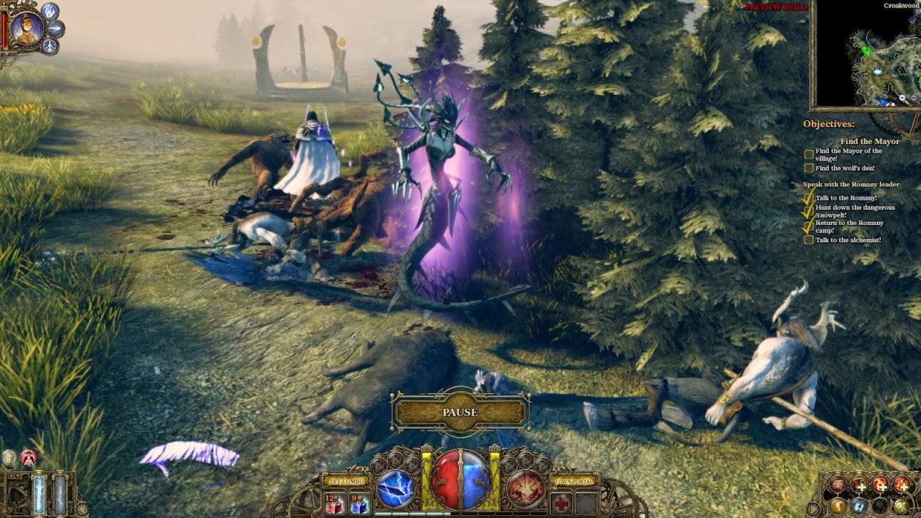 The Incredible Adventures of Van Helsing Complete Pack-PROPHET - Game Screenshot