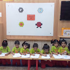 Hexagon Day Celebration by Nursery Morning Section at Witty World, Chikoowadi (2018 - 19)