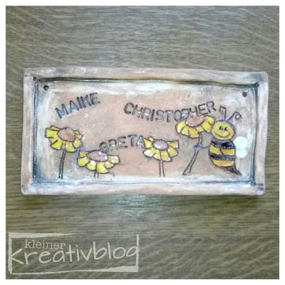 kleiner-kreativblog: Türschild