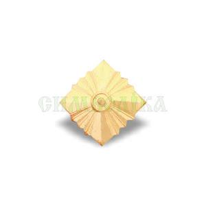 Зірка ромбовидна ЗСУ золота метал