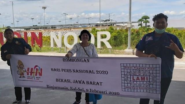 Peringati HPN 2020, Media LAMI Group Hadir di Banjarmasin Kalimantan Selatan