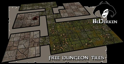 Decisive image in free printable dungeon tiles