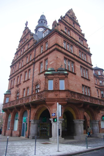 """Solid German architecture, when they had it """"on loan!"""""""