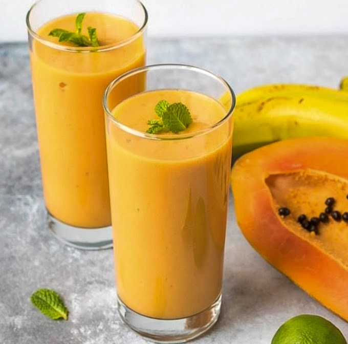 Papaya Shake Recipe | Breakfast Care