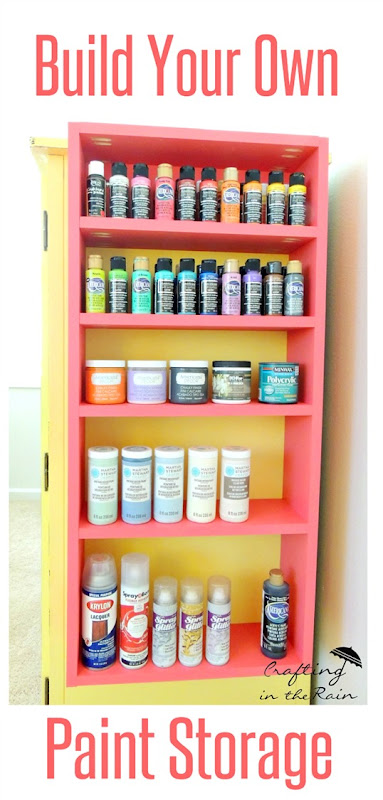 craft-room-paint-organization