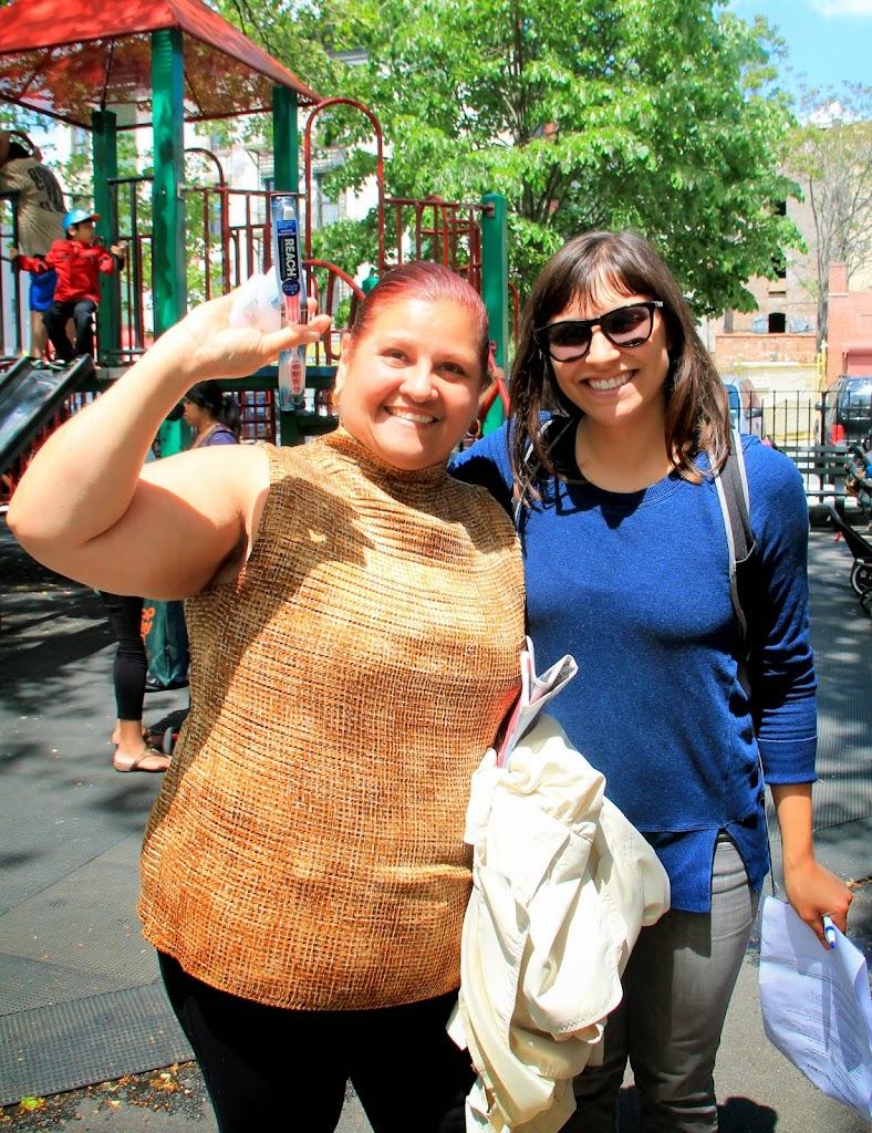 Maria and Lara, our fabulous co-leaders!