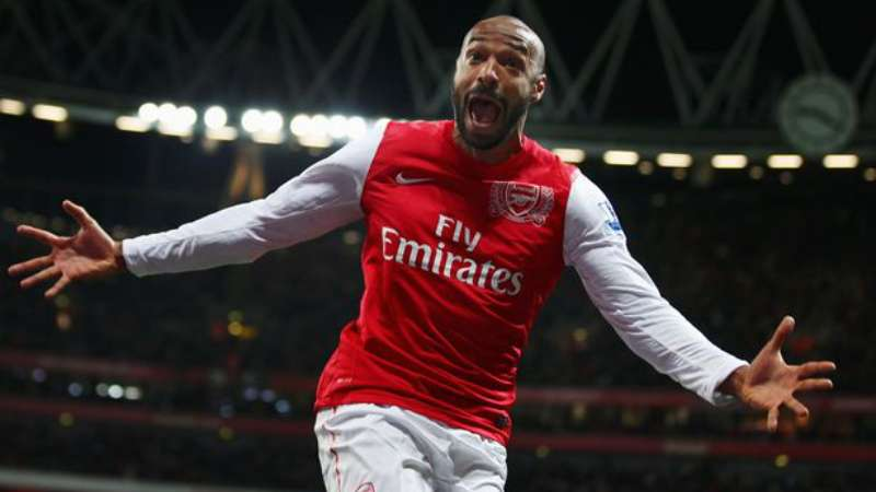 foto thierry henry arsenal