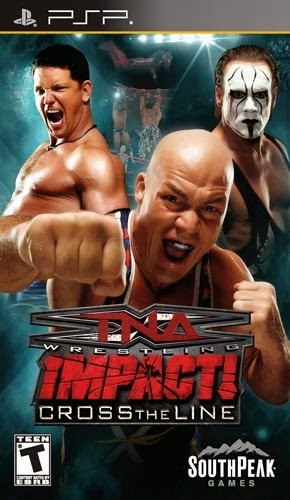 TNA Impact! Cross the Line PSP
