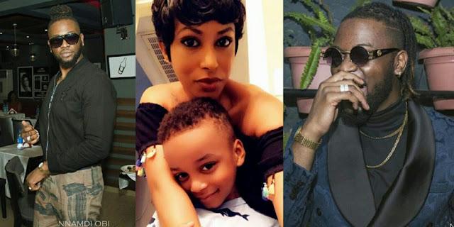 #BBNaija3: Teddy A Reacts After His Babymama Publicly Slammed Him For Being A Deadbeat Dad