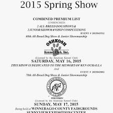 WDC 2015 Spring Show