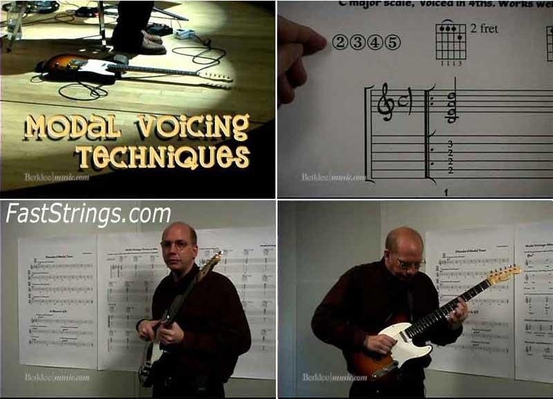 Rick Peckham - Jazz Guitar Techniques: Modal Voicings