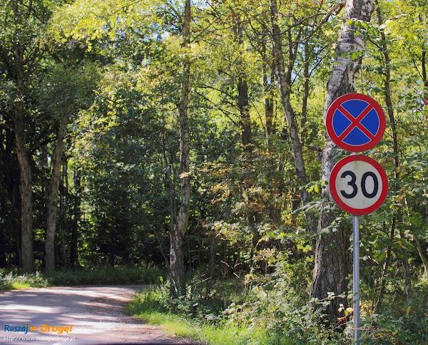 Absurdalny zakaz w drodze na plażę w Czołpinie