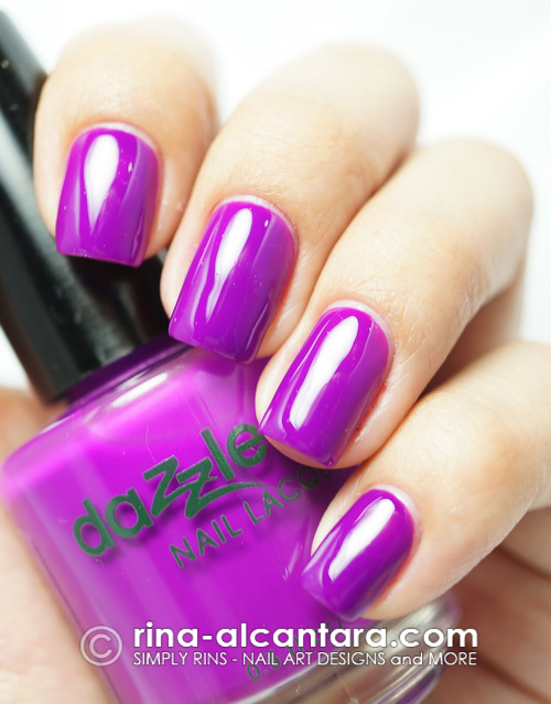 Dazzle Dry Grape Lollipop