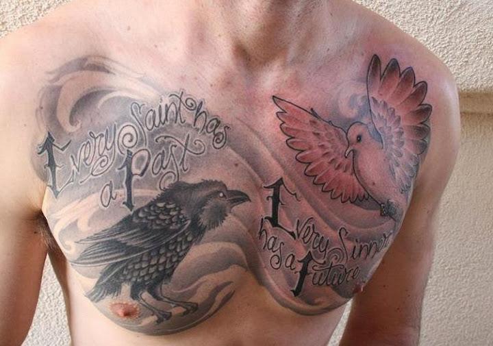 55 Best Chest Tattoos For Men