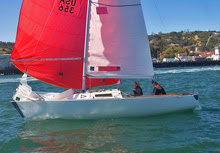 J/22 San Diego YC sailboat- for rental