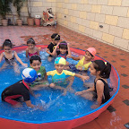 Water Play enjoyed by SR KG Section ( 2016-17) at Witty World, Bangur Nagar
