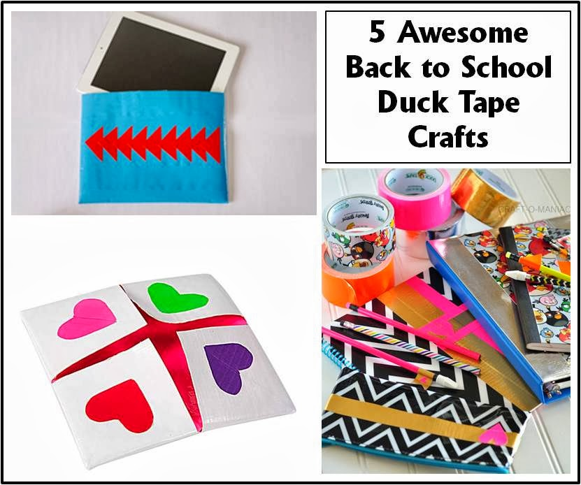 Duck Tape Project Collage