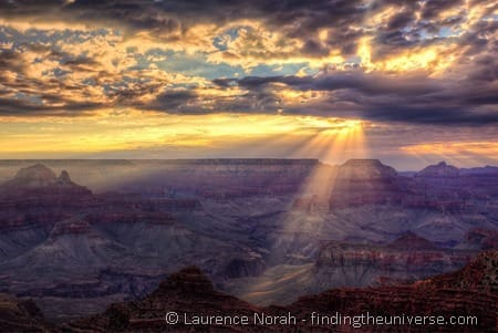 Grand canyon sunrise Mather Point 5