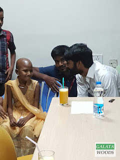 Dhanush Meets ill Patient (fan) In SRMC Hospital Today