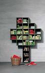 libreria 30mm Lago mobili.