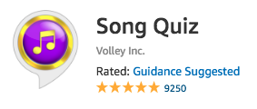 Song Quiz by Volley Inc.
